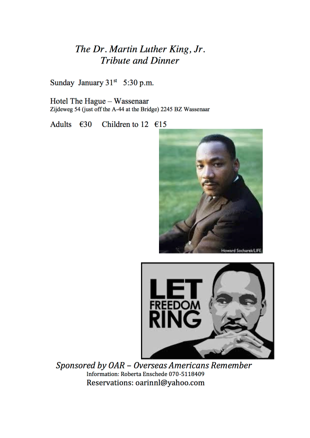 MLK tribute and dinner